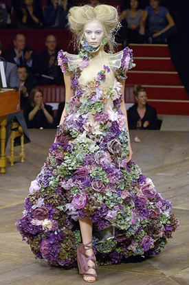 An exquisite gown from his Spring 2007 collection.