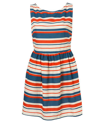 Topshop Nautical Dress