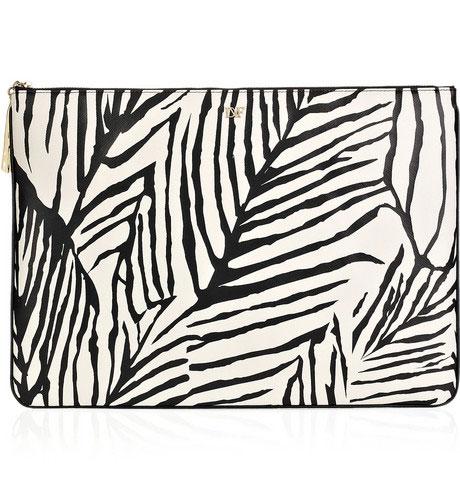 Diane von Furstenberg Mariela printed laptop case