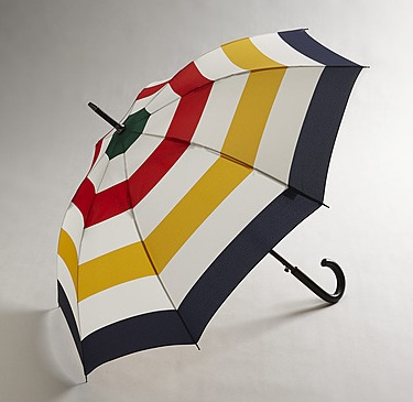 Hudson Bay Walking Stick Umbrella, $35