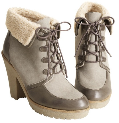 H&M Shearling Boots, $60