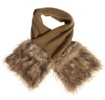 MICHAEL Michael Kors Faux-Fur Pocketed Scarf, $98