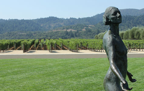 Outside Robert Mondavi