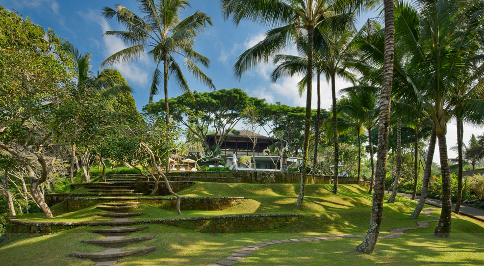 COMO Shambhala's stunning grounds