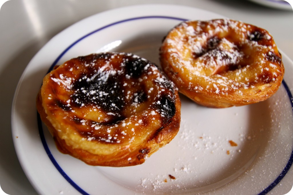 Pastéis de Belém -- an absolute must-try (forget about how many calories they are!)