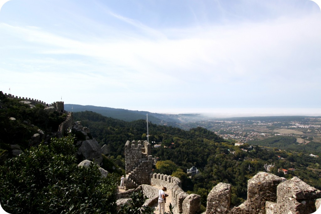 A worthy day trip to Sintra to hike The Castle of the Moors (FYI, don't wear sandals!)