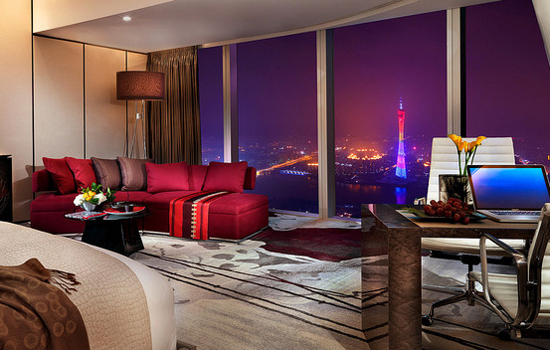 A room at the Four Seasons Guangzhou.
