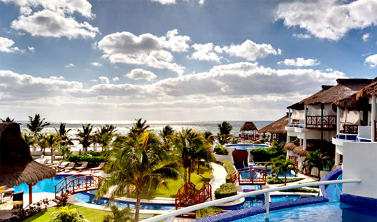 The El Dorado Royale in the Mayan Riviera.