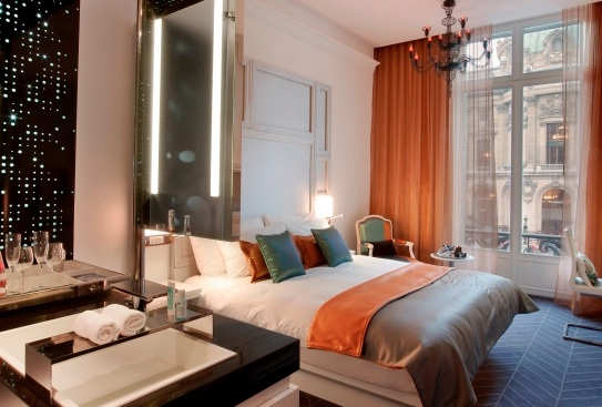 A Wonderful Room at the W Paris.