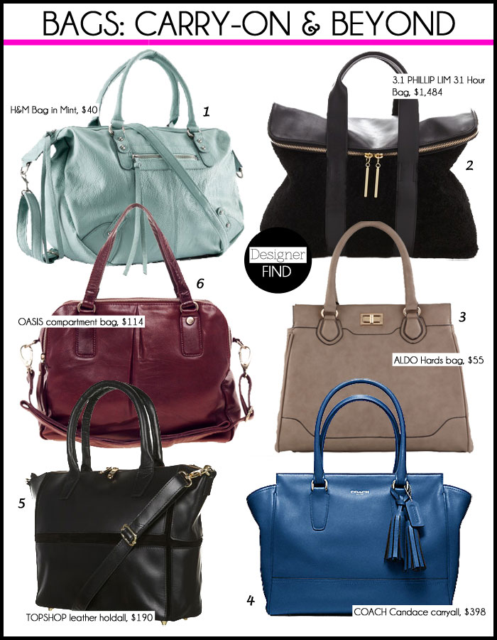 55177f121160 Stylish Handbags to Carry-On & Tote Beyond | Travel & Style ...