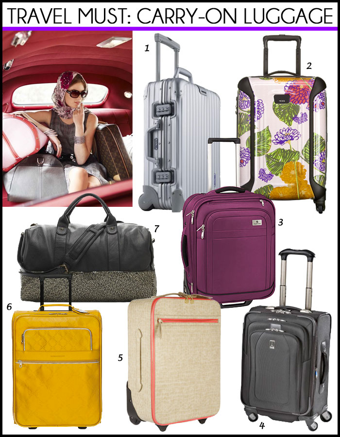 Stylish Carry-On Luggage We Love  cf2ffd8168edc