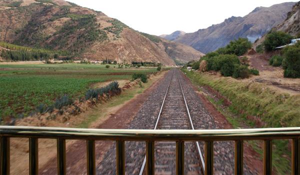 train rides in Peru