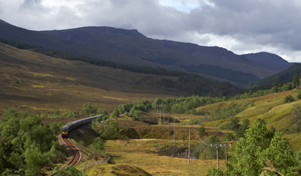 world's best train rides: scotland