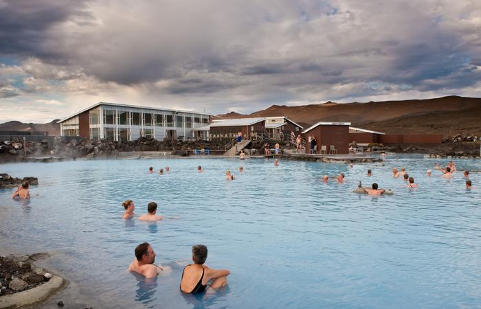 Blue Lagoon, Iceland. Image courtesy Iceland Tourism.