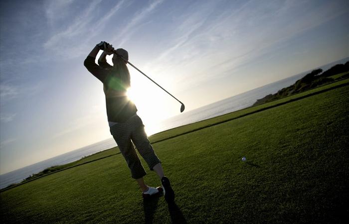 Newport Beach, Pelican Hill Golf Club. Image courtesy Visit California.