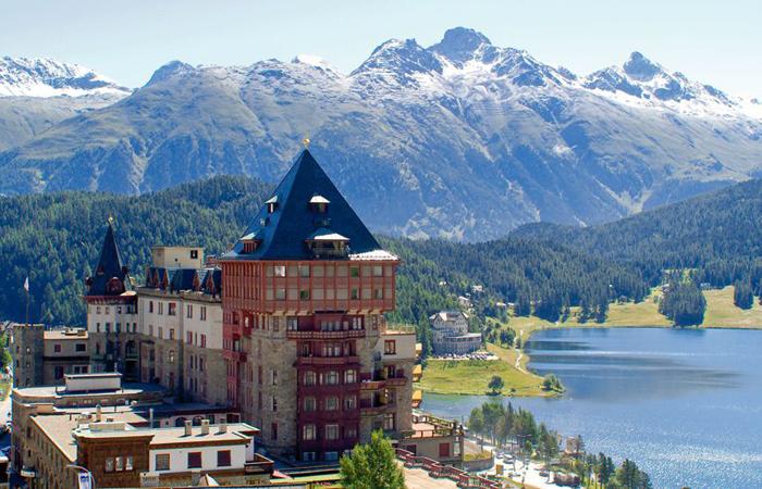 St. Moritz, Switzerland.