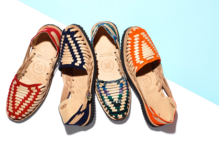 Ix for GOOP huarache sandals.