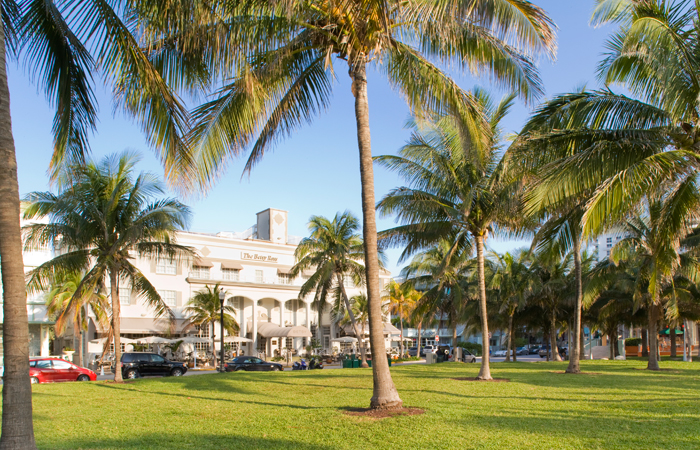 The Betsy viewed from Lummus Park.