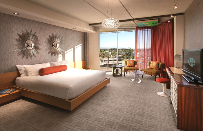 A Tower Signature Guest Room.