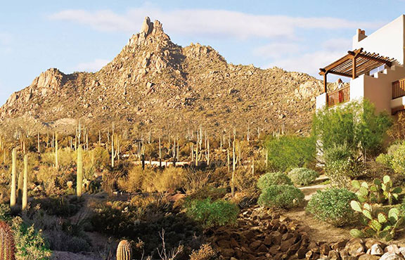 The view from the Four Seasons Scottsdale. Photo courtesy of Four Seasons Scottsdale.