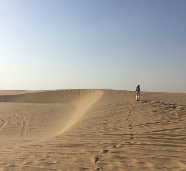 Sand-dunes-Qatar
