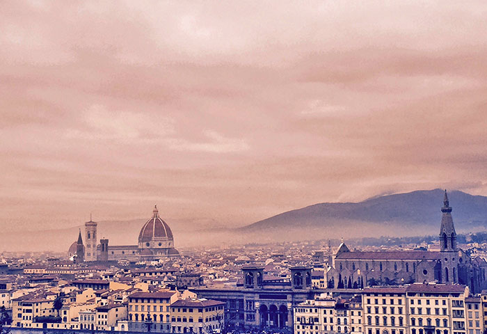 Florence, Italy is high up on the dream vacation list for so many people, and with views like this, we know why!
