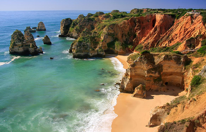 The algarve in Portugal is stunning