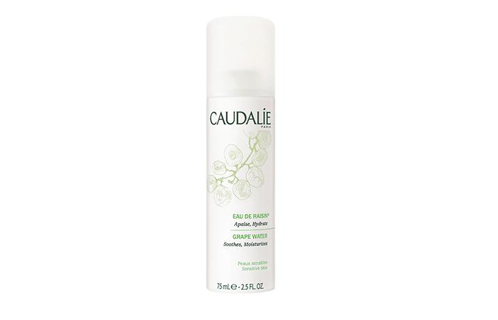 travel beauty: Caudalie's Grape water