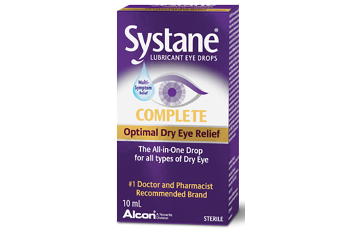 Systane Complete all-in-one eye drops, $14.29.