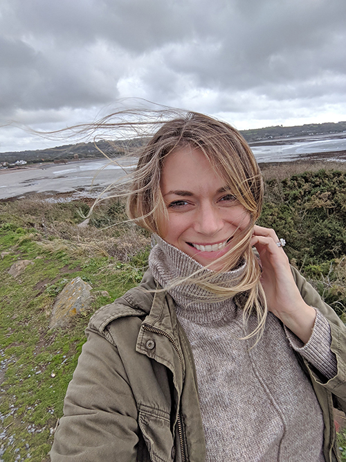 Windy day on Guernsey