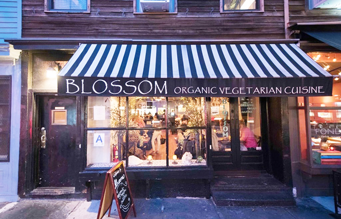 Vegetarian travel: Blossom on Ninth.