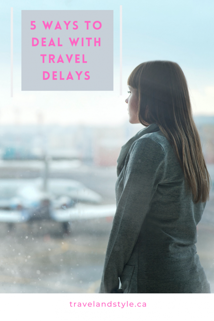 5 ways to deal with travel delays