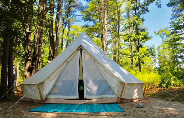 Glamping: Wolfe's Oceanfront
