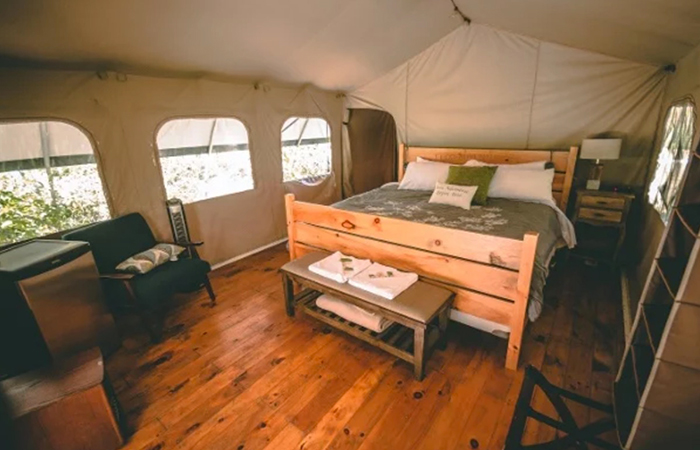Wilderness suite at Ipstay Resorts.