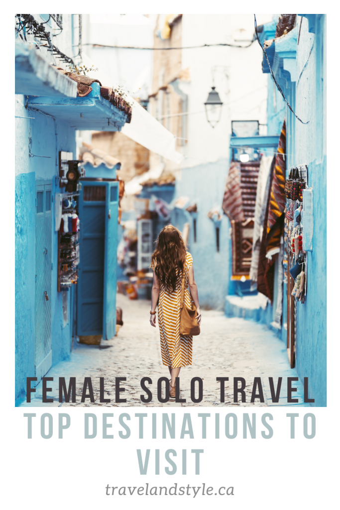 The best destinations for a female solo trip