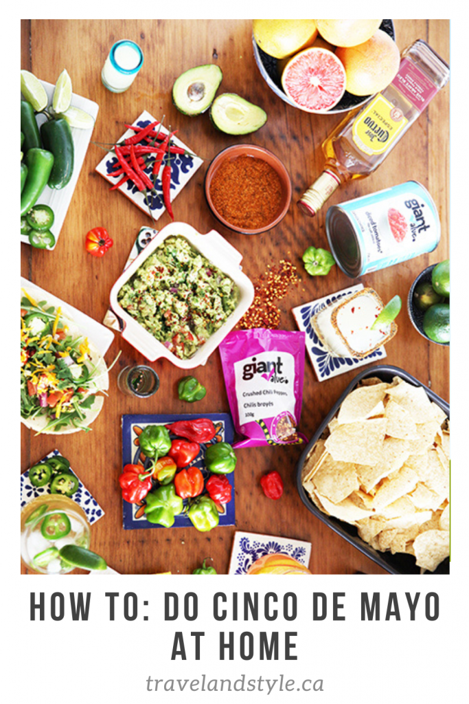 Cinco de mayo at Home How To