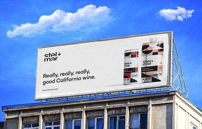 stel+mar wine sign