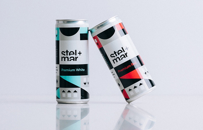 Two cans of goodness from stel+mar.