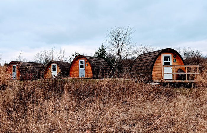Norfolk County: Long Point lodging. Photo courtesy of Long Point Eco Adventures.