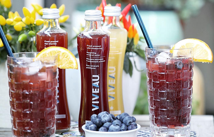 Tastes of fall: VIVEAU's sparkling beverage will transport you to Nova Scotia in one sip.