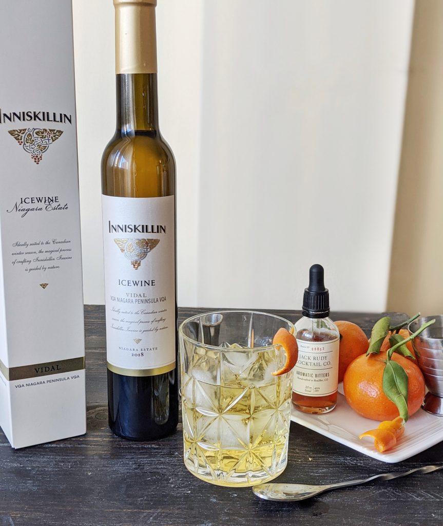 Pandemic Travel: Hotel Cocktails Inniskillin Ice Wine