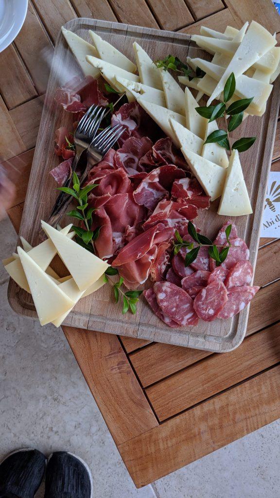 Incredible food inSardinia