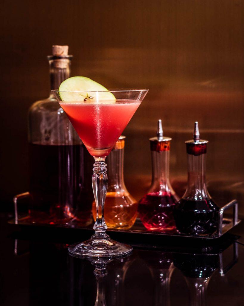 Pandemic Travel: Hotel Cocktails St Regis Hotel Toronto Jack Rose Cocktail