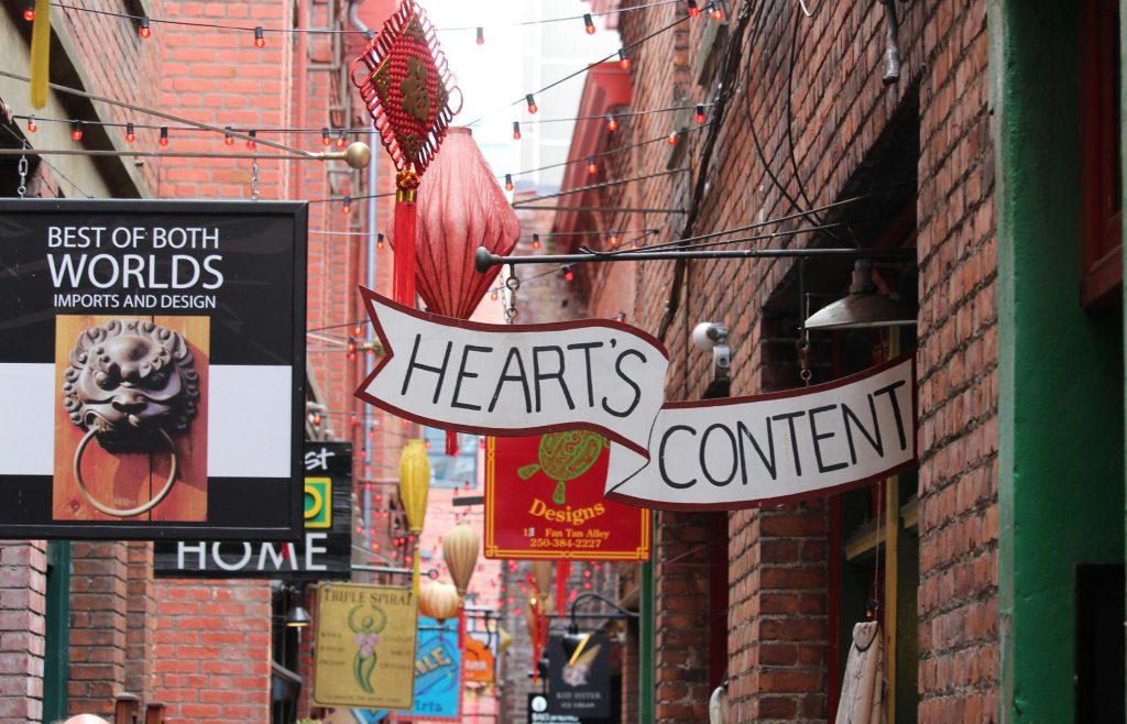 Fan Tan Alley, Victoria, British Columbia